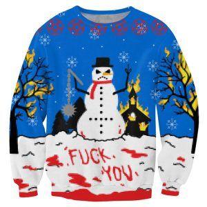 De anti kerst kersttrui is voor iedereen die een hekel heeft aan kerst