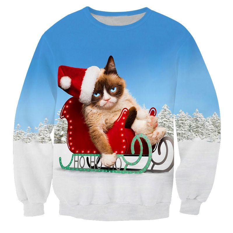 Foute Kersttrui Xl.Grumpycat Kersttrui Superfout Vandaag Besteld Morgen In Huis