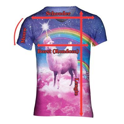 Maattabel superfout shirts
