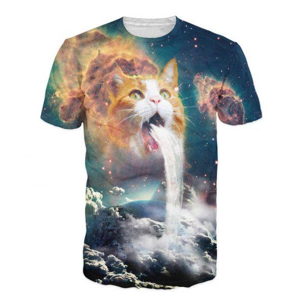productfoto van het waterval kat shirt