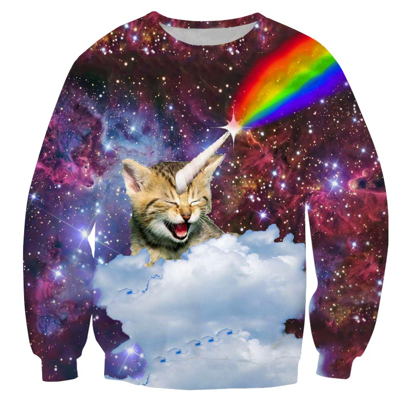 Unicorn cat trui Superfout Vandaag besteld, morgen in huis.