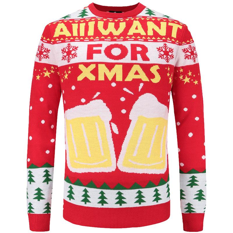 Foute Kersttrui Xl.Kersttrui Voor De Bierliefhebber Superfout Vandaag Besteld
